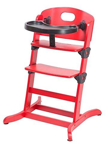 guzzie+Guss Banquet Wooden High Chair, Strawberry GG212S