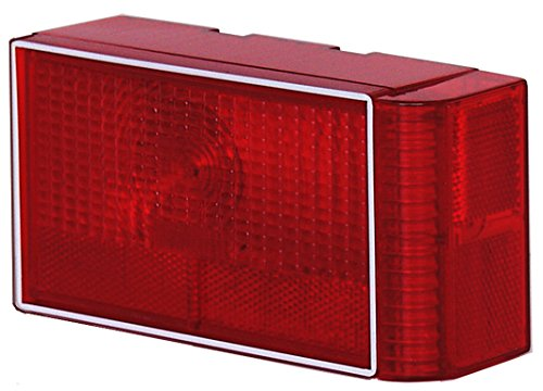 Launch Boat Trailer - Dry Launch SP8RBW-ER13 SP8 Series Right Tail Light with Curved Side