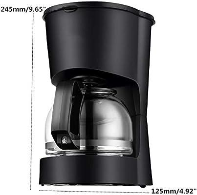 Zhongyangfangdichan Máquinas de café Inicio automático de América por Goteo Cafetera Tetera Mini Burbuja Máquina de café: Amazon.es: Hogar