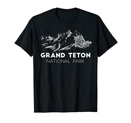 Grand Teton National Park Travel Wyoming Explore Earth USA T-Shirt