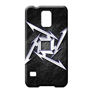 samsung galaxy s5 cell phone carrying cases Colorful Durability Hot Style metallica star