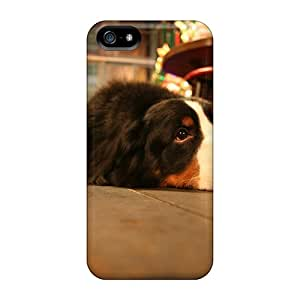 Tpu Case Cover For Iphone 5/5s Strong Protect Case - I'm Watching It Here Design