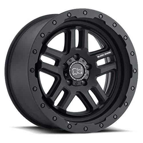 BLACK RHINO Rim Barstow 17X9.50 5x5.5 0 Textured Matte Black
