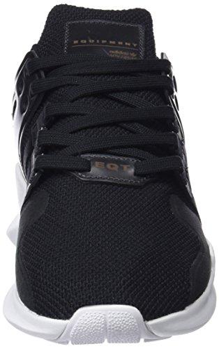 adidas EQT Support ADV, Scarpe da Ginnastica Basse Uomo Nero (Cblack/Cblack/Ftwwht)