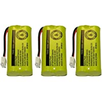 Replacement Battery for AT&T BT8001 / BT8000 / BT8300 / BT184342 / BT284342 / 89-1335-00 / 89-1344-01 / BATT-6010 / CPH-515D (3-Pack, Bulk Packaging)