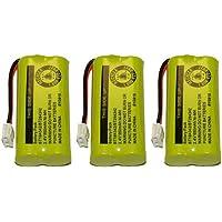 Replacement for Vtech 8300 / BATT-6010 / BT18433 / BT184342 / BT28433 / BT284342 / 89-1326-00-00 / CPH-515D (3 pack)