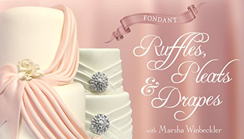 Fondant Ruffles, Pleats & Drapes - Kitchen Rolled Fondant