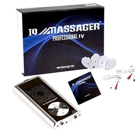 IQ PRO IV Portable Electronic Massager (Iq Massager Mini Ii)