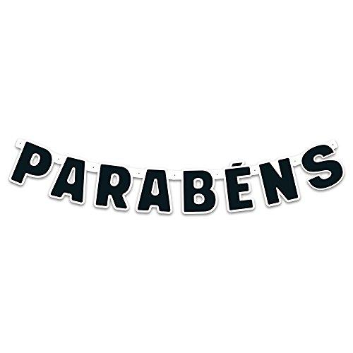 Regina Faixa Parabens R575 Festa Colors Preto