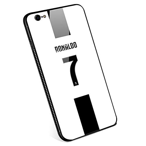 - iPhone 6 Cases, Tempered Glass iPhone 6s Case with Clear Ring Kickstand Black Cover Rotating Stand Case for iPhone 6/6s 4.7 Juventus Football Club s.p.a #7