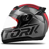 Pro Tork Capacete Evolution G7 58 Preto/Vermelho