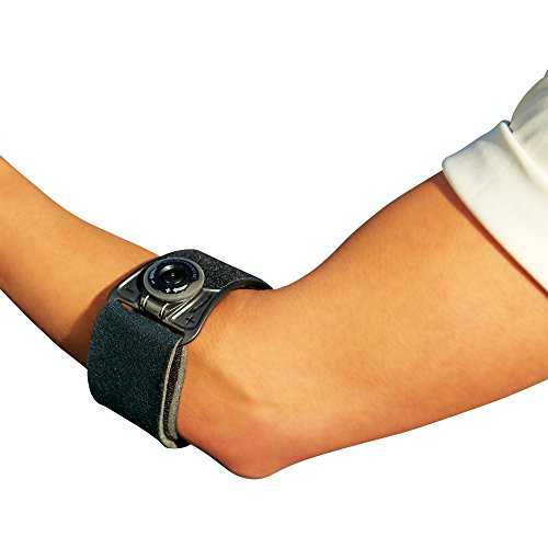 Ace Elbow Brace - ACE Brand Custom Dial Elbow Strap, America's Most Trusted Brand of Braces and Supports, Money Back Satisfaction Guarantee
