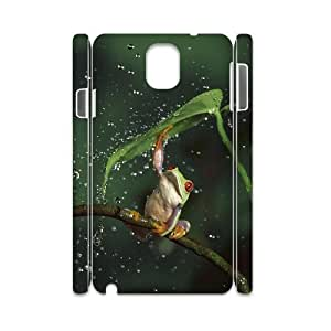 Frog Custom 3D Cover Case for Samsung Galaxy Note 3 N9000,diy phone case ygtg531877