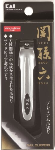 UPC 783318712154, Made in Japan Kai X Seki Mago Roku Finger Nail Clipper with Nail Cutter Type