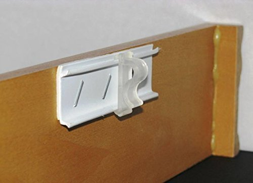 1 Mini Blind Double Slat Valance Retainer Clips by novian 14 QTY