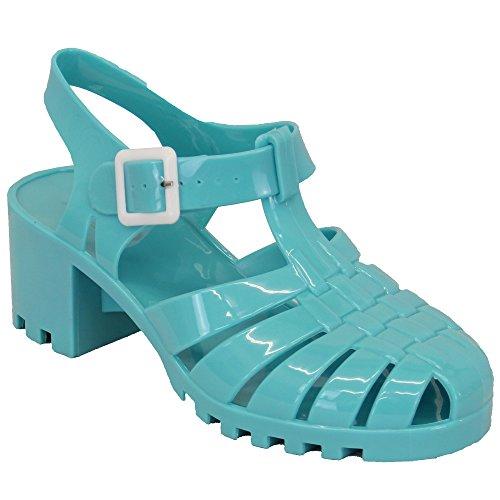 Aomei, Sneaker donna, Multicolore (Coral/Blue - JELLYBPK3), 37