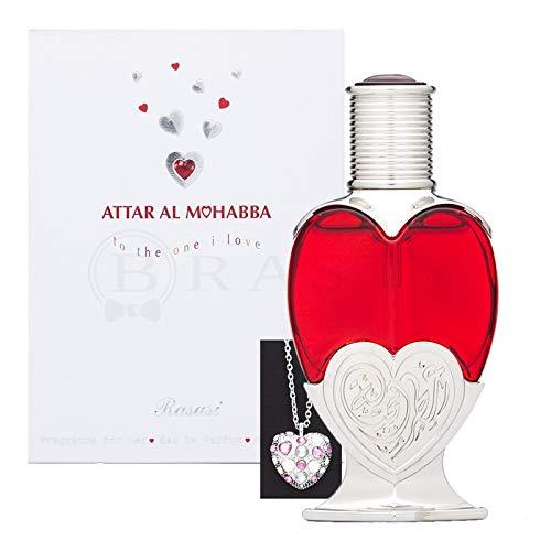 Rasasi Attar Al Mohabba Women's Eau de Perfume, 45 ml