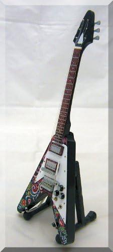 JIMI HENDRIX Miniatura Guitarra FLYING VEE: Amazon.es ...