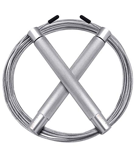 RDX Skipping Rope Adjustable Steel Gym Jump Speed Lose Weight Gymnastics Fitness MMA Boxing Jumping Metal Cable Training…