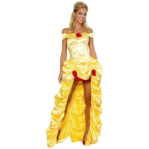 Deluxe Fairytale Princess Costume - Small - Dress Size 4
