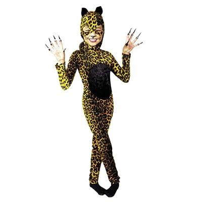 Kids Female Cheetah Cat Costume: Toys & Games