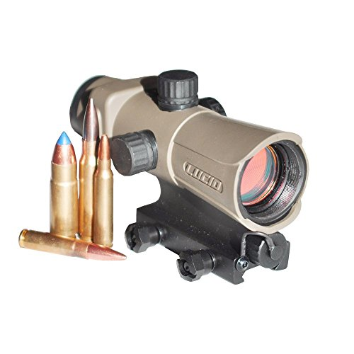 LUCID HD7 Generation 3 Red Dot Sight, Flat Dark (Red Dot Flat)