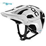 Cheap POC Tectal Race Spin, Helmet for Mountain Biking, Hydrogen White/Uranium Black, XS-S