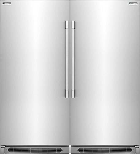 Frigidaire Series Built-In All Freezer Combo Easy Care Stainless
