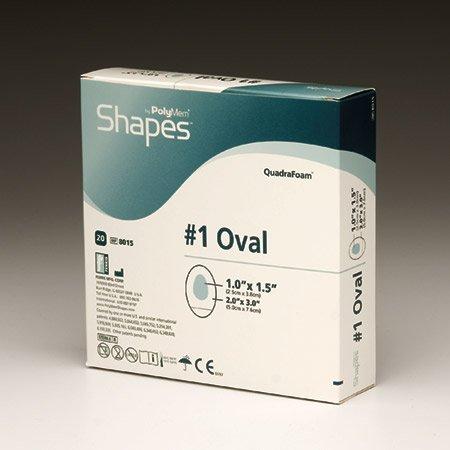 Shape Sacral (Ferris Manufacturing Corp PolyMem Shapes - Sacral, 7.2