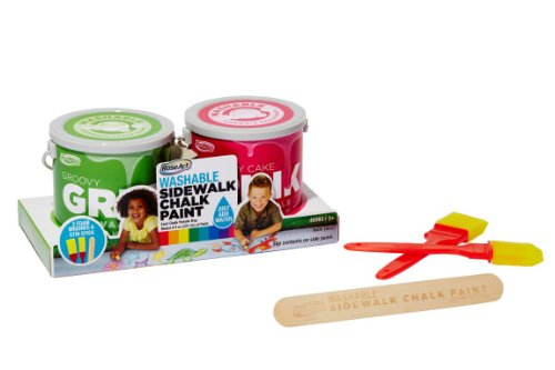 RoseArt Sidewalk Chalk 2 Pack Groovy product image