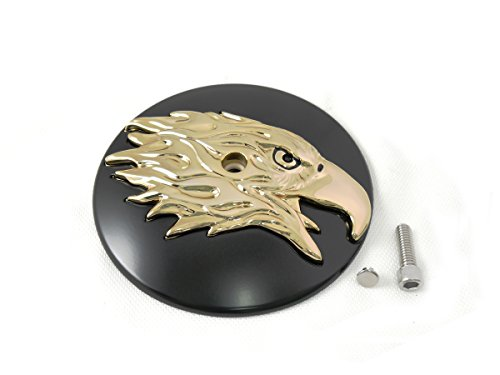 - V-Twin 34-1434 - Round Eagle Air Cleaner Cover Insert