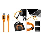Tether Tools Starter Tethering Kit with 15' USB-3.0 to USB-C Cable, Orange