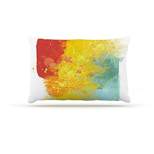 Kess InHouse Oriana Cordero Medley  Fleece Dog Bed, 50 by 60 , colorful Paint