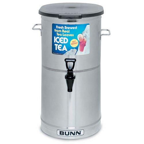5 Gallon Iced Tea - Iced Tea Dispenser 5 Gallon Capacity - Solid Lid