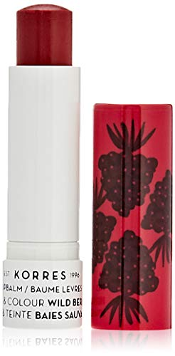 Korres Care & Colour Lippenbalsam, Wild Berries, 1er Pack (1 x 5 ml )