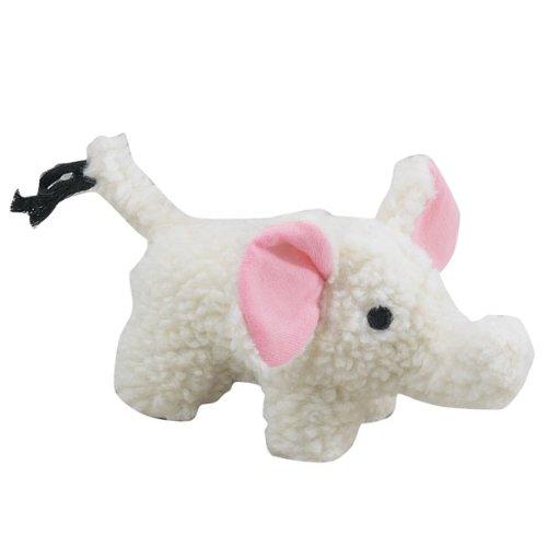 Zanies Soft Plush Fleecy Friend Dog Toy, Elephant, 7-1/2-Inch, My Pet Supplies