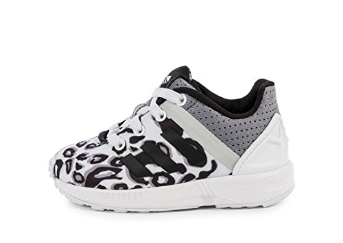 Adidas - Adidas Zx Flux Split El I Kinder Sportschuhe Weiss Textil S78807 Weiß