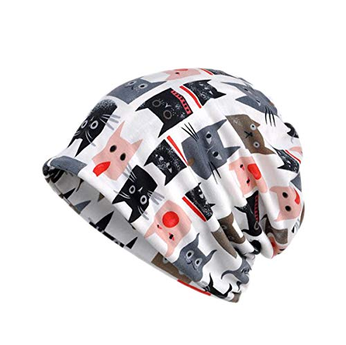 Lining Without Tubulaire Unisexe Bonnet White Motif Acvip Velvet Chat Y8x7nOgR