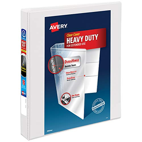 Avery Heavy-Duty View Binder, 1