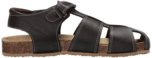 The Children's Place Boys' BB Fisherman SCO Flat Sandal, Brown, Youth 11 Medium US Big Kid by The Children's Place (Image #6)