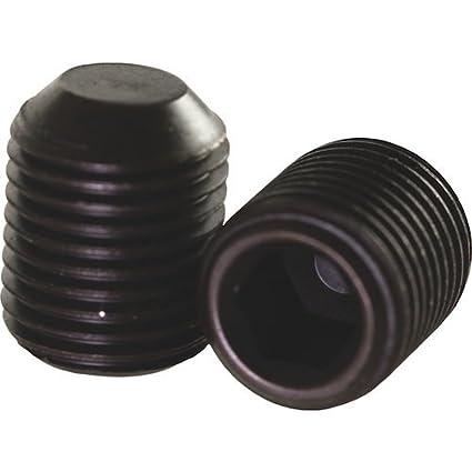 "Bolts #8-32 x 3//16/"" Black Oxide Steel Lot Hex Socket Cup Point Set Screws 4"