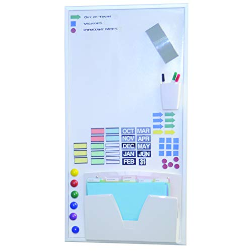 Ultimate Office Magnetic Dry-Erase Multi-Purpose Panel, The Perfect Companion Board for Modular Monthly Planning Calendars (1 ()