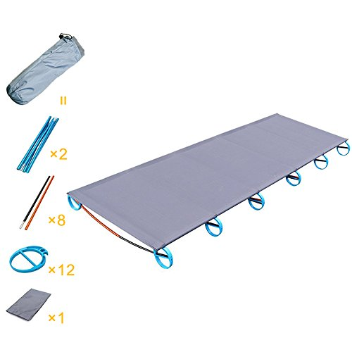 - Camping Cot,FOME Portable Ultralight Camping Cot Comfortable Travel Cot with Storage Bag 73x23x4inch Perfect for Base Camp and Hunting for Adults