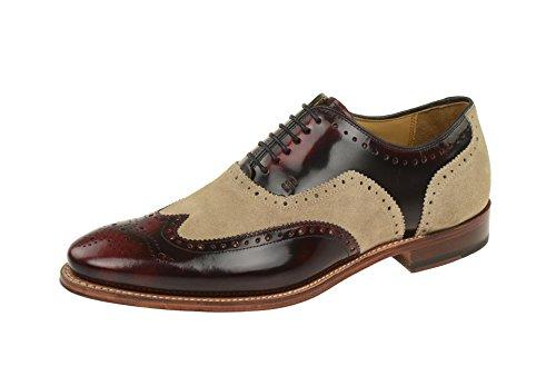 Gordon & Bros3859-c - zapatos con cordones Hombre Rojo