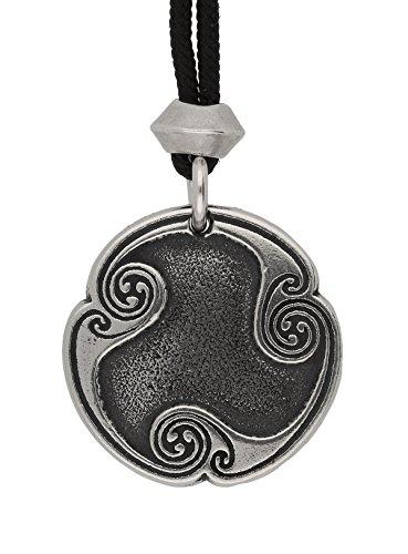 Fait à la Main Rune Wynn Viking nordique de joie 8e runique lettre Pewter pendentif