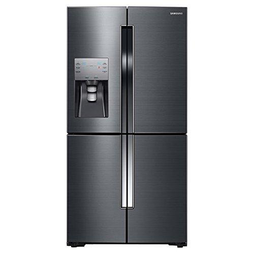 Samsung RF23J9011SG 22.5 Cu. Ft. Black Stainless Steel Counter Depth French Door Refrigerator - Energy Star (Samsung Stainless Fridge)