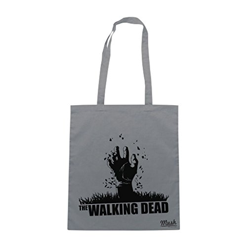 Borsa Walking Dead Zombie Hand - Grigia - Film by Mush Dress Your Style