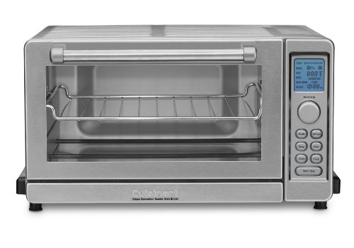 Cuisinart TOB-135 Deluxe Convection Toaster Oven Broiler, Brushed Stainless (Small Oven Cuisinart compare prices)
