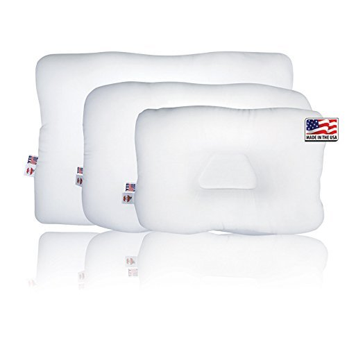 Tri-Core Cervical Pillow Display With Pillows