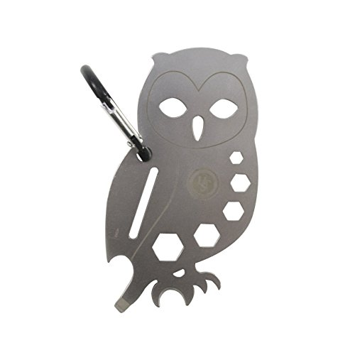 UST Stainless Steel Tool A Long Multi-Tool, Owl by UST